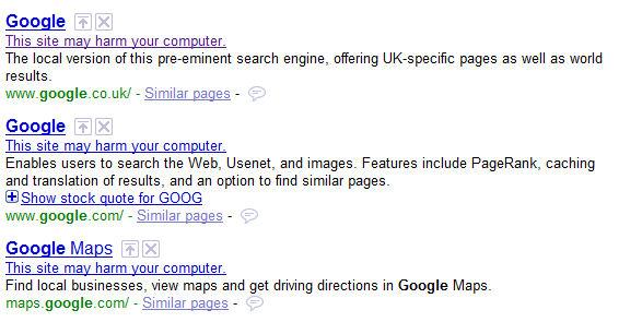 Googlemalwareerror