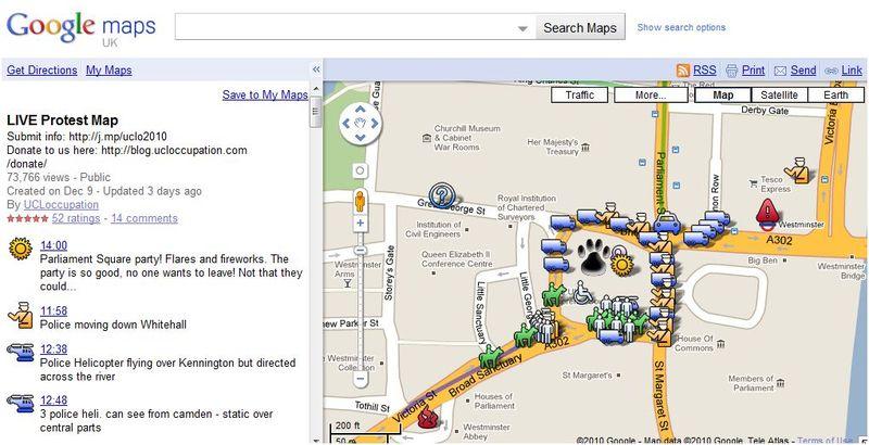 Googlemapsprotest