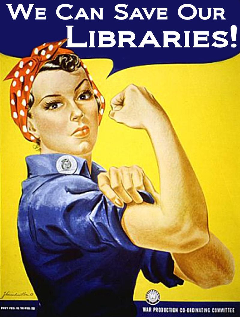 Wow! 40 Retro Library Posters!