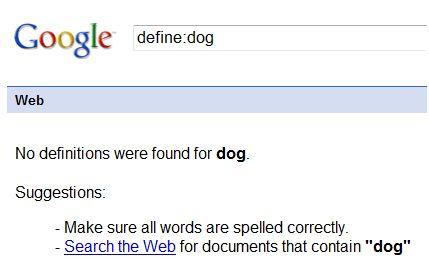 Googledefine