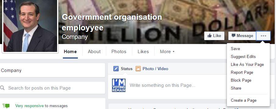 Phil Bradley's weblog: Facebook account spoofing