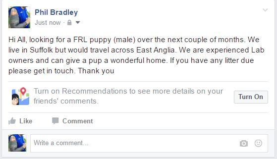 Phil Bradleys Weblog Facebook